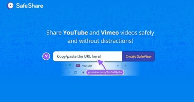 Προβολή και διαμοιρασμός βίντεο από το Youtube, με το SafeShare.Tv