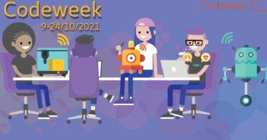 Ευρωπαϊκή Εβδομάδα Προγραμματισμού CodeWeek 2021